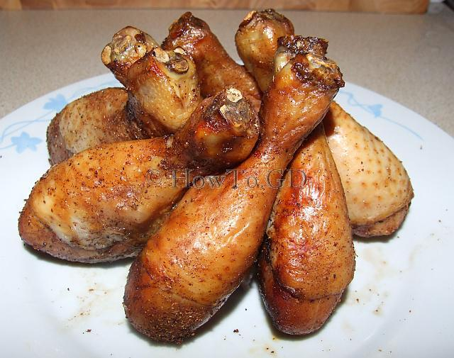 How to make semi-hot smoked chicken drumsticks