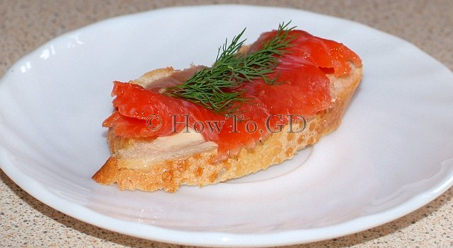 How to make quickly salted wild Alaskan salmon