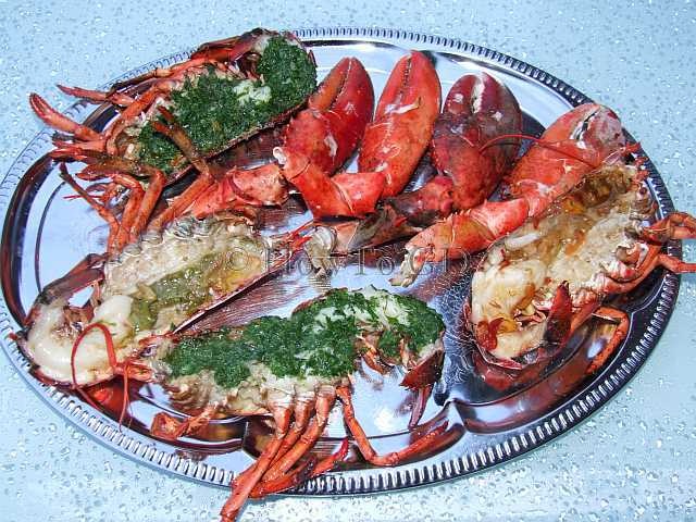 How to grill lobsters, three marinades