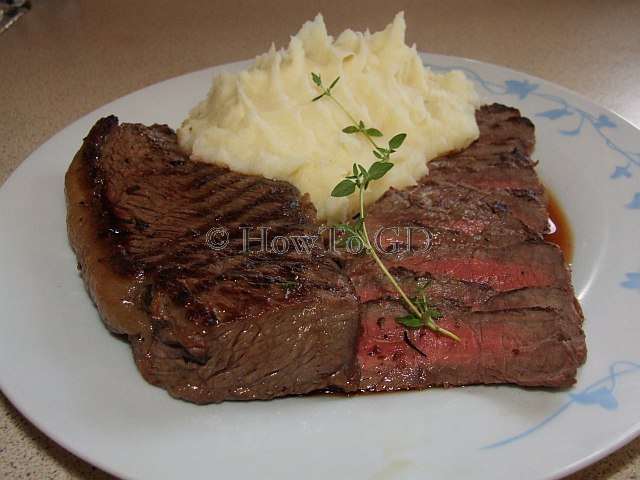 How to make a simple rump steak