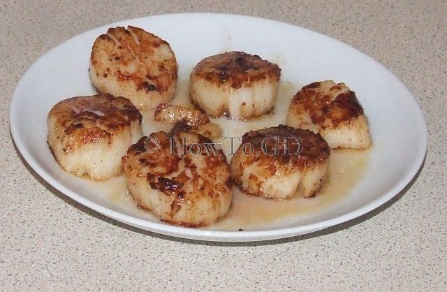 How To Pan Fry King Scallops