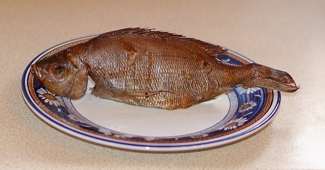 How to hot-smoke Black Seabream