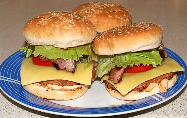 How to cook perfect beef burger