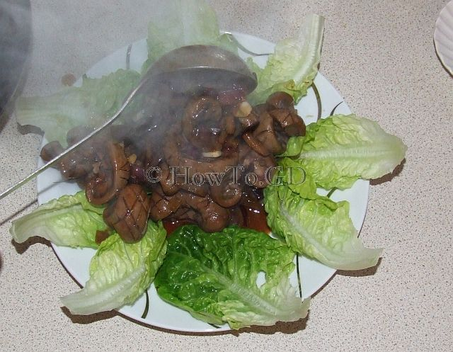 How to roast lamb kidney Uyghur-style