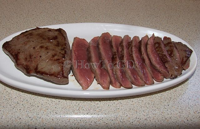 How to make quickly frying venison steak