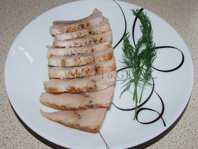 How to make sous-vide swordfish steaks