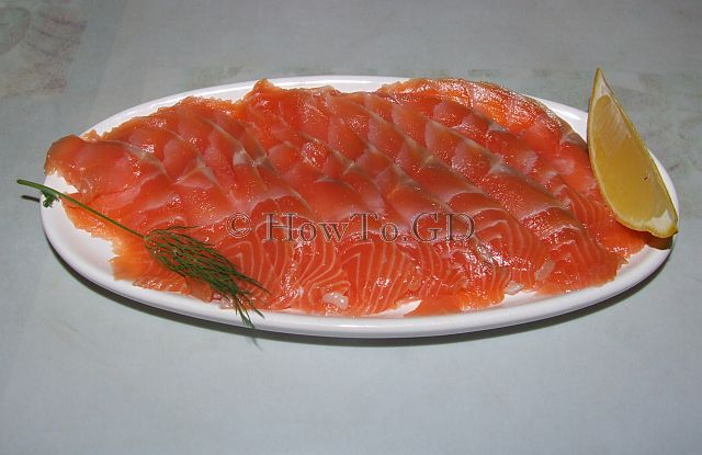 How to make salted salmon