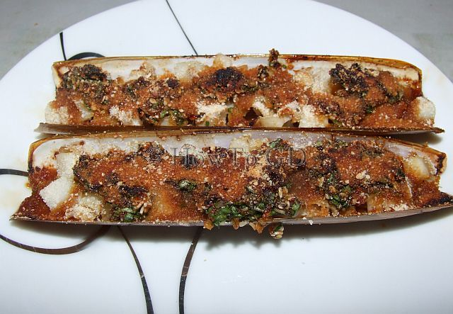 How to make sweet razor clams