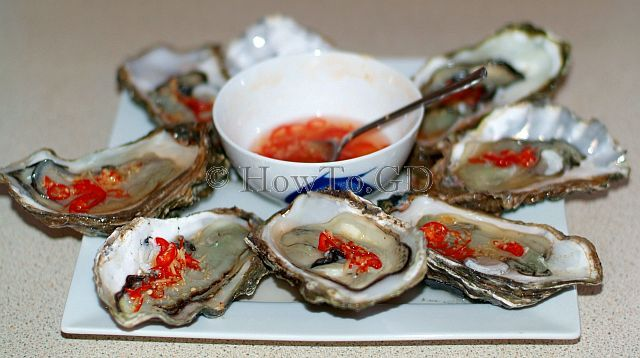 How to cook hot and sweet sauce for oysters