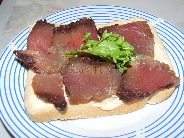 How to salt Skipjack tuna
