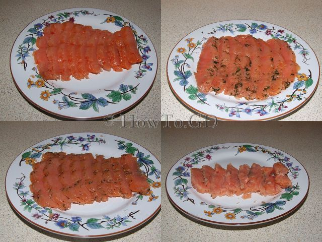 How to smoke salmon at home, four marinades