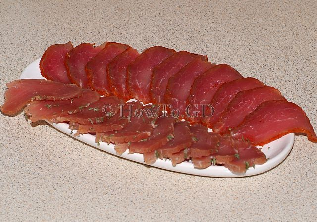 How to make cured pork ham