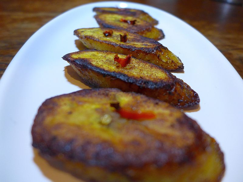 How to fry spicy Plantains