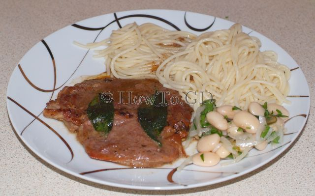 How to make saltimbocca