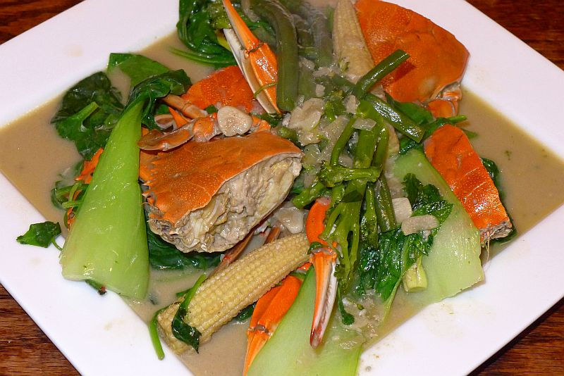 How to cook Ginataang Alimasag or Crabs in Coconut Milk