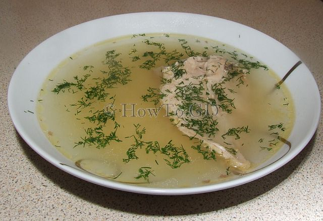 How to make guinea fowl stock