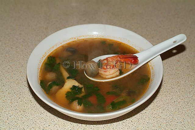 How to make Tom Yum Kung