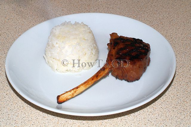 How to make marinated lamb chops