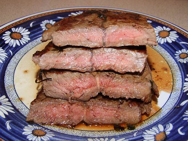 How to make thin Top Blade steak