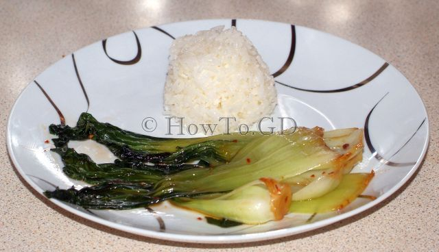 How to make Sesame Pak Choi